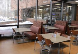 Cook Student Center Food Court Seating
